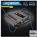 Amplificador Banda Ice 1200 Digital 1200 WRMS